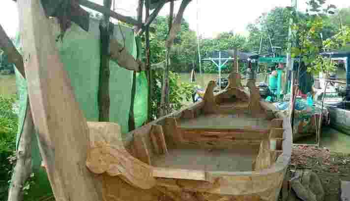 Menerima pesanan Perahu Nelayan Wedung Demak