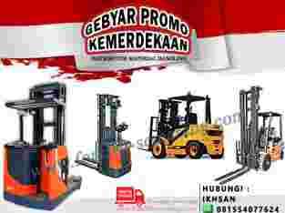 Promo Forklift Diesel Forklift Battery Reach Truck