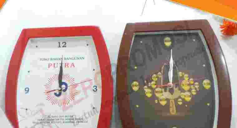 Souvenir Jam Dinding Murah Cetak Logo Kode 1728P
