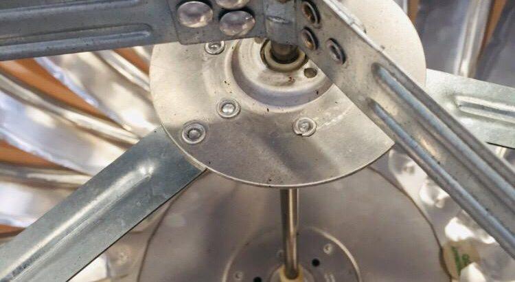 Turbin Ventilasi Udara Ukuran 24 Inchi Alumunium