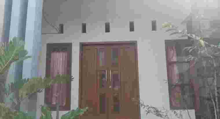 Rumah Murah jl Bunga dekat Kampus UB Kota Malang