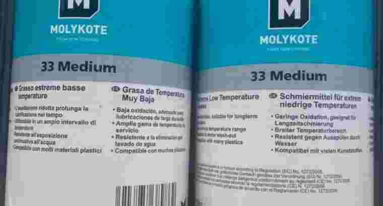 molykote 33 extreme low temperature bearing grease