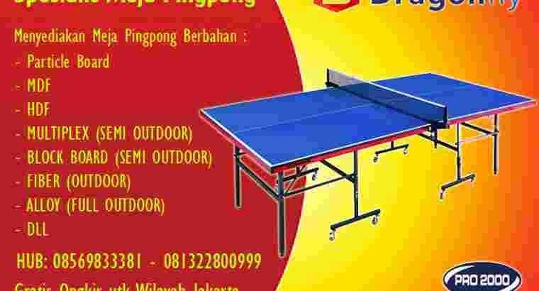tenis meja ping pong merk DRAGON FLY