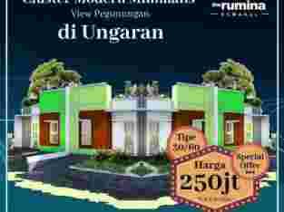 Rumah Dijual 200jutaan di Ungaran The Rumina Suwakul