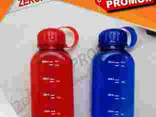 Souvenir Promosi Botol Minum Plastik Segi Empat 60