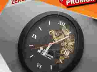 Produksi Souvenir Eksklusif Jam Dinding Oval
