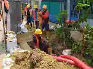 jasa Pemasangan kabel bawah tanah 089671332332