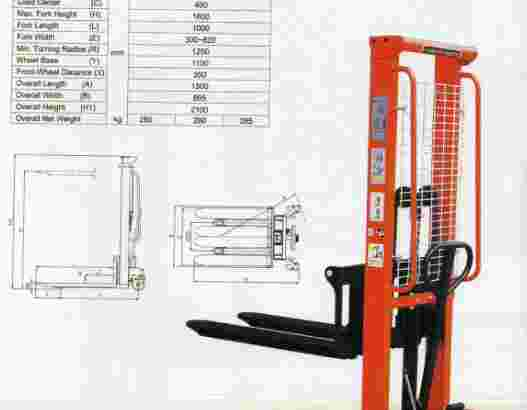 Hand Stacker Manual 2 Ton Murah Semarang