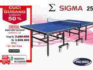 tenis meja pingpong merk SIGMA 25